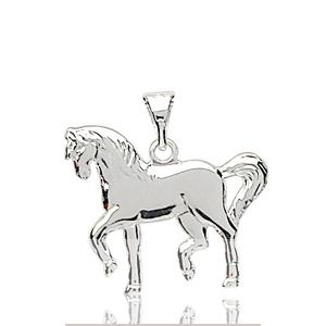 Sans - Pendentif cheval en argent pas cher